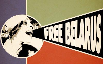 Za slobodu a demokraciu v Bielorusku