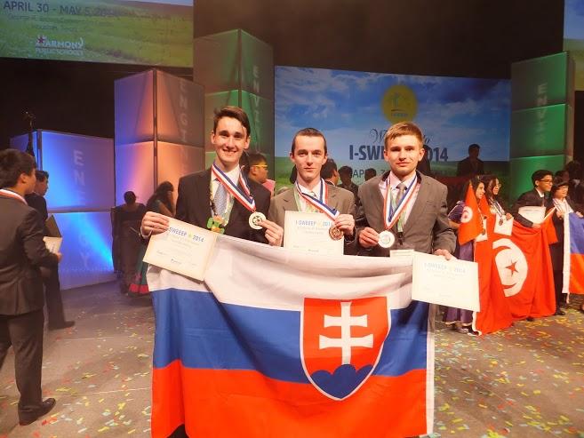 InformácieMladí Slováci víťazmi na svetovej olympiáde