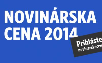 Novinárska cena 2014