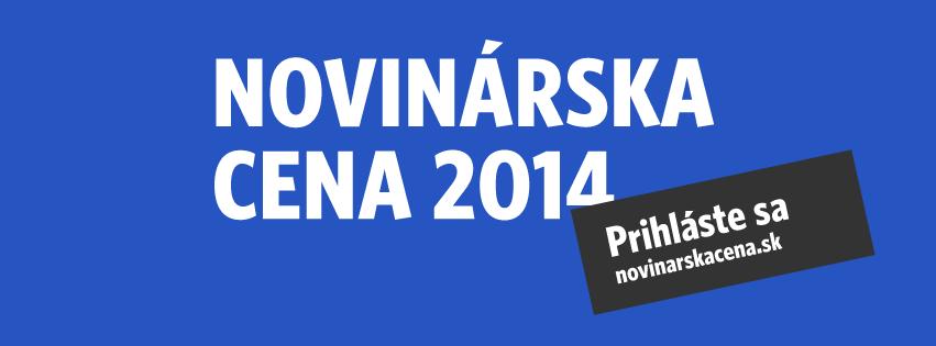 InformácieNovinárska cena 2014
