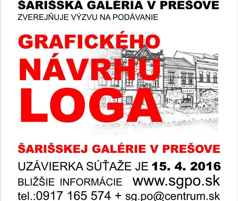 PonukyNavrhni logo pre Šarišskú galériu