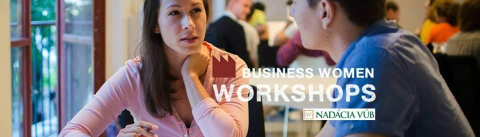 PonukyBusiness Women Workshop- Rozbehni sa so Sashe.sk