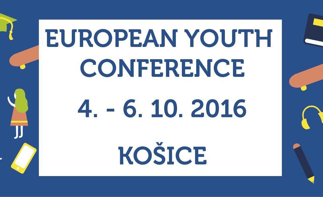 InformácieUž len týždeň! Európska konferencia v Košiciach dá hlas mladým