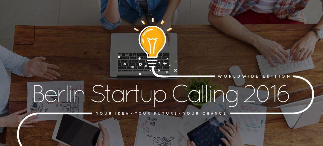 PonukySúťaž startupov – Berlin Startup Calling Idea Contest