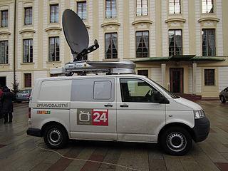 PonukyStáž v spravodajstve- Česká televize
