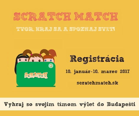 PonukySúťaž Scratch Match