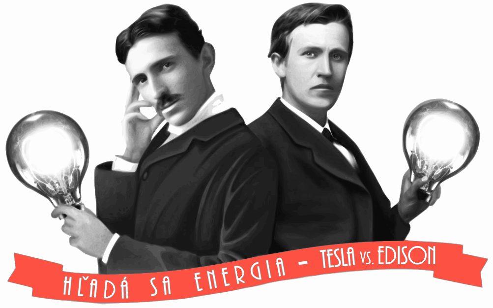 """PonukySúťaž """"Hľadá sa energia!"""" – Tesla vs. Edison"""