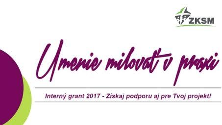 InformácieZKSM aj tento rok ponúka možnosť zapojiť sa do interného grantu