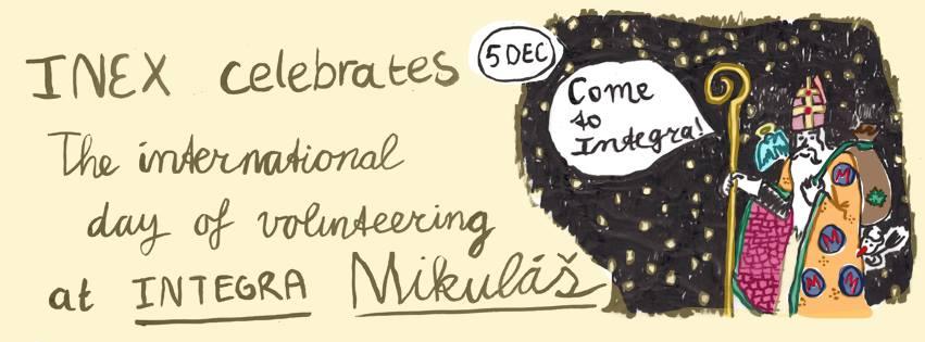 PonukyMedzinárodný deň dobrovoľníctva v Integre