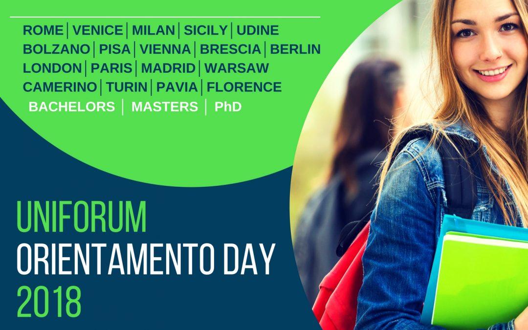 """PonukyVeľtrh zahraničných univerzít – """"Uniforum Orientamento Day"""""""