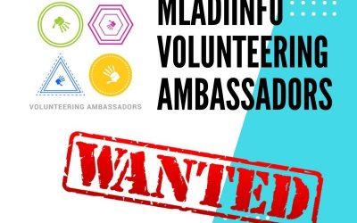 Mladiinfo Slovensko hľadá ambasádorov dobrovoľníctva