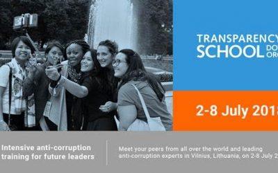 Letná škola Transparency International