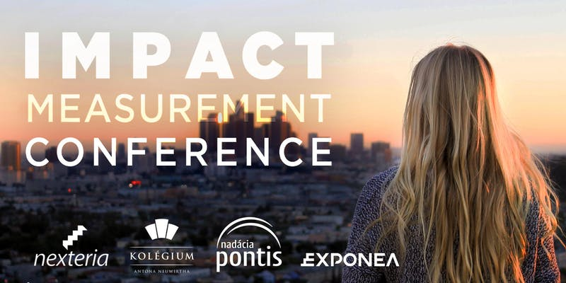 "PonukyKonferencia – ""Impact Measurement Conference 2018"""