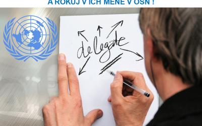 Staň sa mládežníckym delegátom Slovenska v OSN!