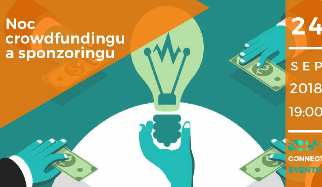 PonukyNoc crowdfundingu a sponzoringu