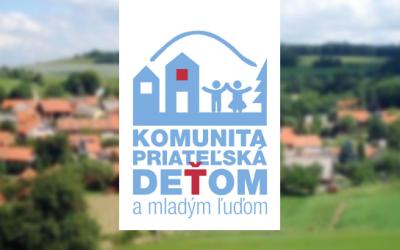 """Nominácie na ocenenie """"Komunita priateľská deťom a mladým ľuďom 2018"""""""