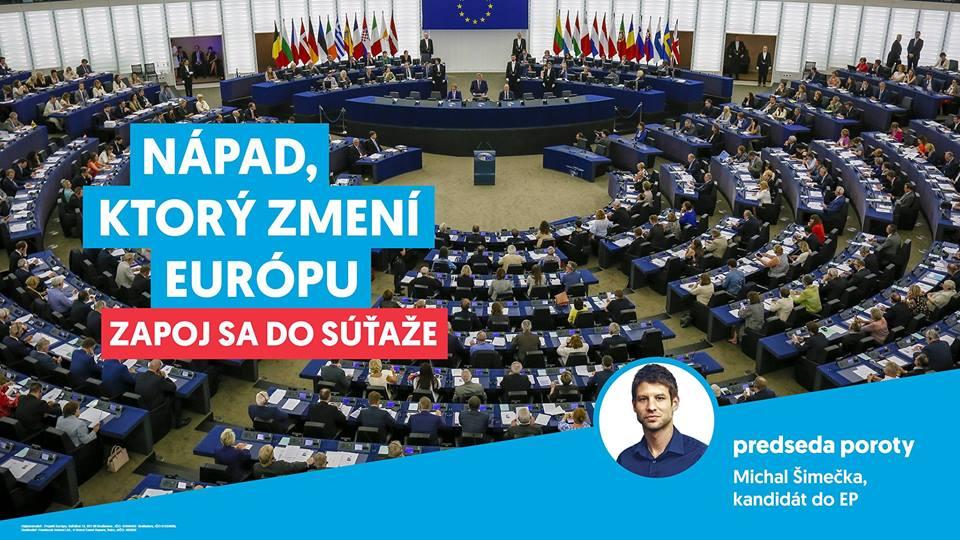 """PonukySúťaž – """"Nápad, ktorý zmení Európu!"""""""