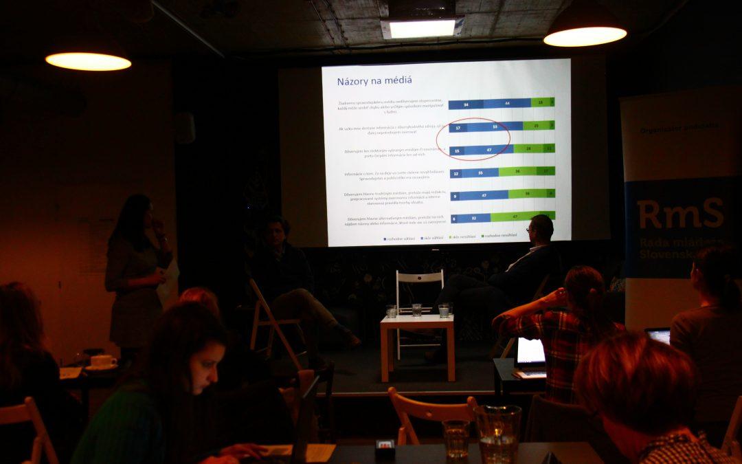 InformácieMladých vo voľbách ovplyvnil prevažne internet