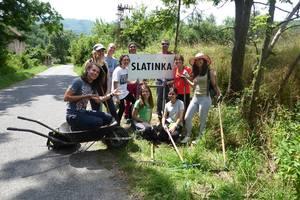 PonukyECO workcamp v dedinke Slatinka
