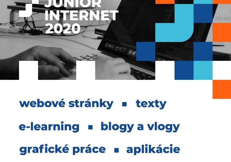 """PonukySúťaž – """"Junior internet 2020"""""""