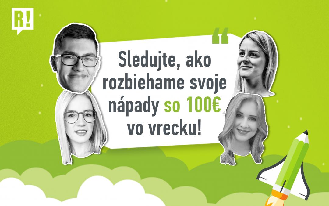 ProjektyMladí Slováci rozbiehajú biznis nápady. Sleduj ich naživo na R! LIVE!