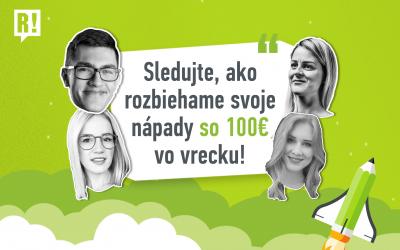 Mladí Slováci rozbiehajú biznis nápady. Sleduj ich naživo na R! LIVE!