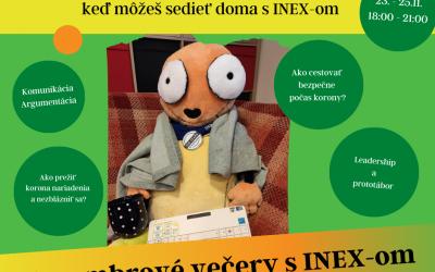 Novembrové večery s INEX-om
